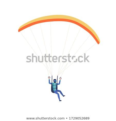 実例 男 雲 スポーツ 飛行機 ストックフォト © adrenalina