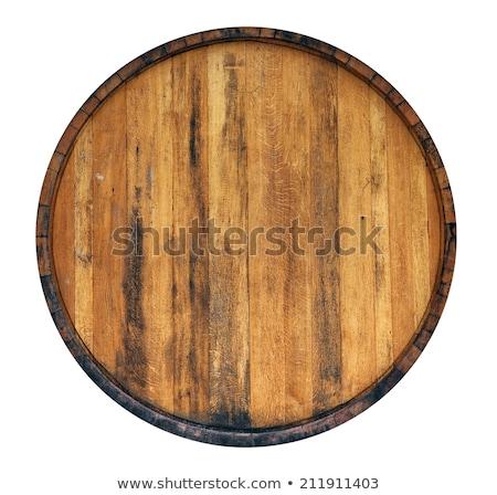 marrón · alcohol · botella · aislado · blanco · vector - foto stock © bluering