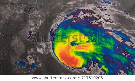 Ouragan image Rechercher mer terre Photo stock © NASA_images