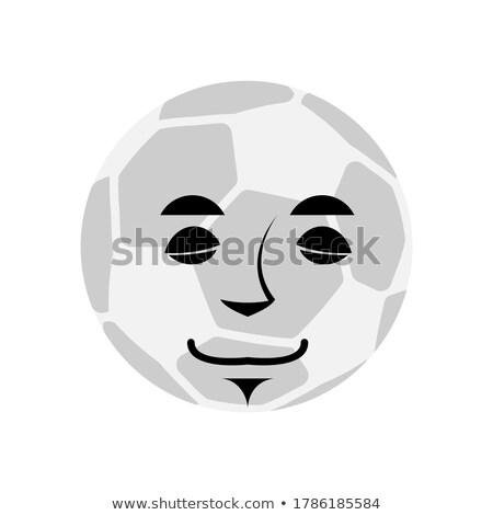 Voetbal slapen voetbal bal emotie Stockfoto © popaukropa