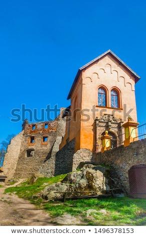 замок · лет · каменные · архитектура · Европа · Польша - Сток-фото © Hochwander