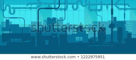 sín · gyár · doboz - stock fotó © bluering