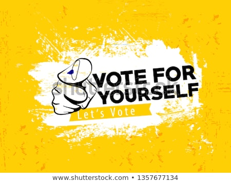 vote for india election background Stock photo © SArts
