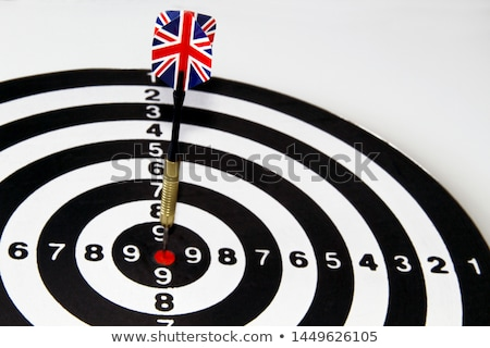 uk dart in a european flag stock photo © nito