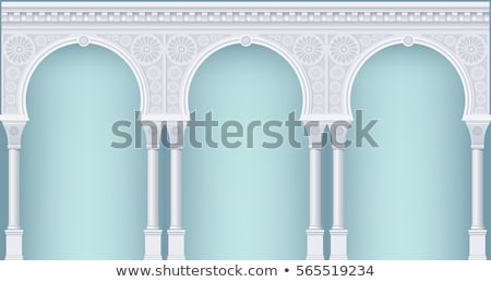 Old arabic architecture Stock photo © Anna_Om