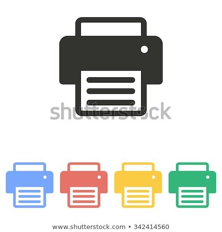 zöld · pdf · irat · ikon · magas · döntés - stock fotó © kbuntu