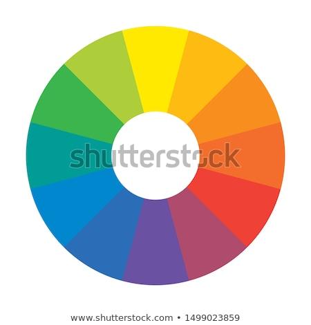 虹 サークル 12 高調波 パターン セット ストックフォト © Glasaigh