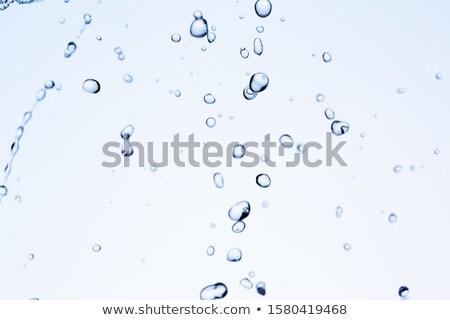 抽象的な · 酸素 · 水 · 青 · 色 · 健康 - ストックフォト © galitskaya