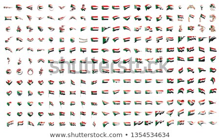 very big collection of vector flags of the Sudan Stock photo © butenkow