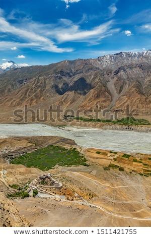 Vale chave himalaia montanha azul Foto stock © dmitry_rukhlenko