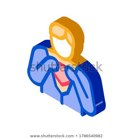 Super Hero Readiness isometric icon vector illustration Stock photo © pikepicture