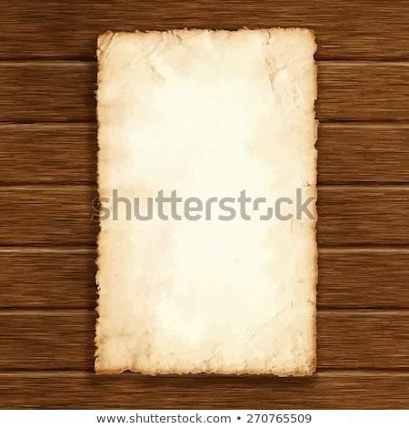 öreg kézirat fapadló díj textúra fa Stock fotó © m_pavlov