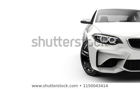 új autó fényszóró közelkép absztrakt fény háttér Stock fotó © Frankljr