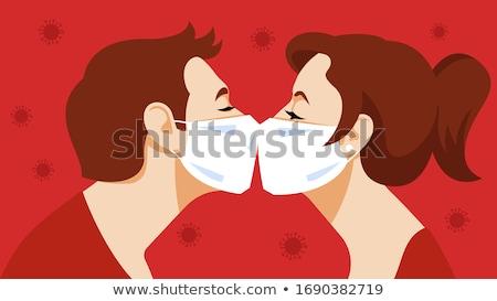 Intimidade atraente casal fechar jeans feminino Foto stock © pressmaster