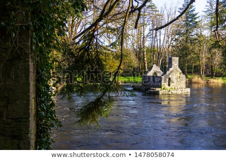 Monk's fishing house at Cong Abbey Stock photo © igabriela