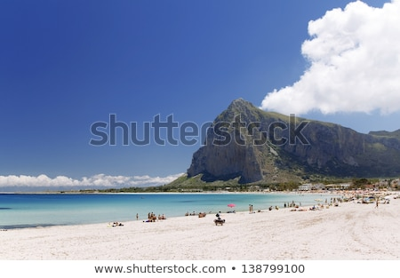 Sycylia widoku morze Śródziemne morza Włochy lata Zdjęcia stock © rmarinello