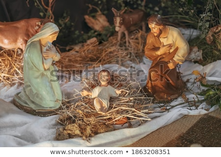 Vigin Mary with baby Jesus stock photo © curaphotography