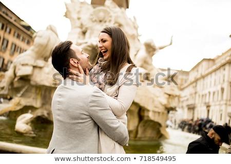 Miłości Europie serca ilustracja biały wolności Zdjęcia stock © kbuntu