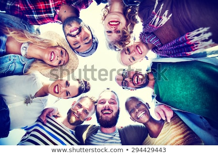 group of young adults partying at the beach stock photo © photography33