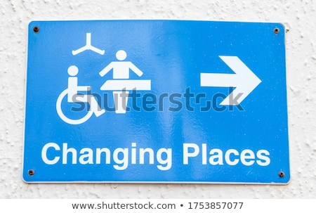 disabled wheelchair sign stock photo © nikdoorg