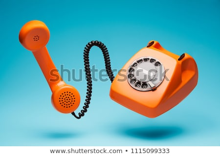 Vintage phones headsets stock photo © iko