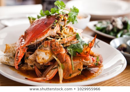 Delicious crab Stock photo © aremafoto