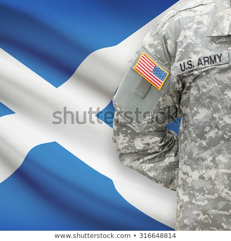 Scottish Scotch warrior stock photo © zastavkin