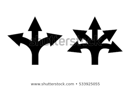 abstract multiple arrow icons set Stock photo © pathakdesigner