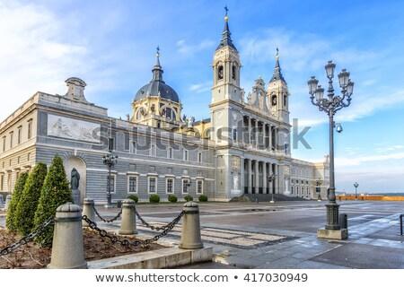 Cathédrale détails Madrid saint royal la Photo stock © rognar