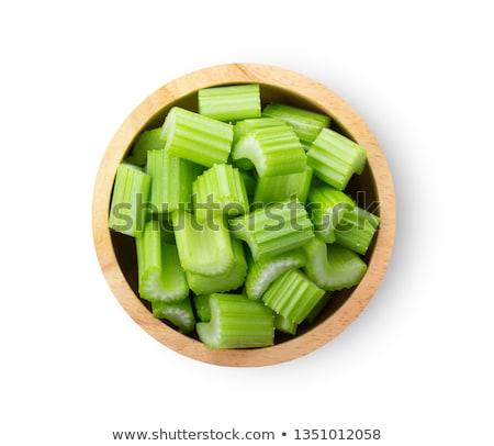 Ciotola sedano insalata vegetali fresche dieta Foto d'archivio © M-studio