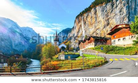 abrigo · armas · Suiza · imagen · deporte · bandera - foto stock © perysty