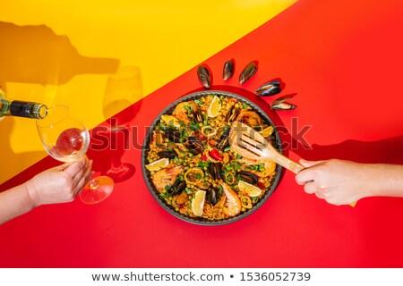 Stockfoto: Spanish Menu