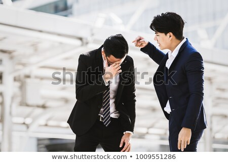 businessman shouting at a colleague stock photo © photography33