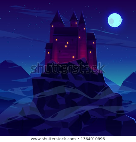 Ancient Vampire in Moonlight Stock photo © AlienCat