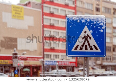Inclement Winter Pedestrian stock photo © eldadcarin