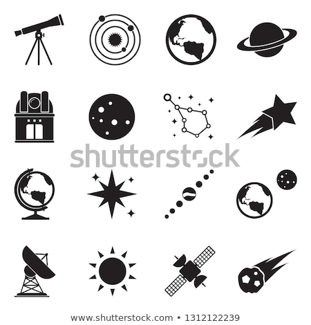 Astronomy Icons Stock photo © cteconsulting