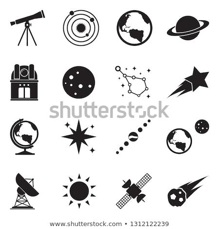 cartoon · planeten · ingesteld · illustratie · aarde - stockfoto © cteconsulting