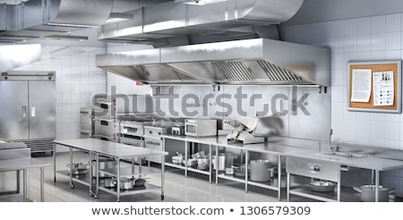 Kitchen with equipment stock photo © ABBPhoto