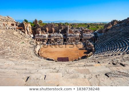Roman Theater side view Stock photo © fxegs