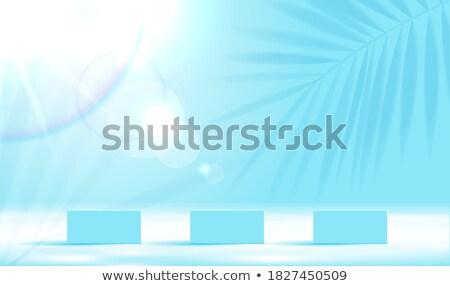 parfum · assortiment · verre · bleu · liquide · cosmétiques - photo stock © moses