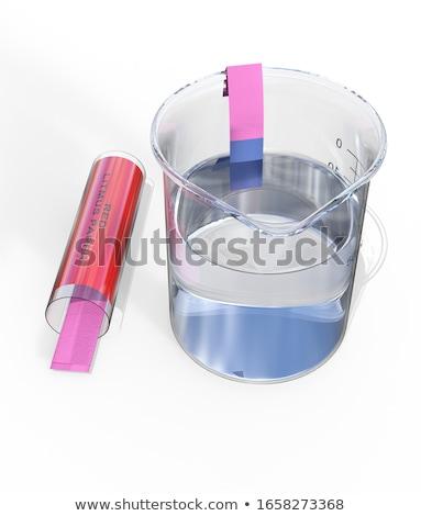 litmus paper and beaker stock photo © deyangeorgiev