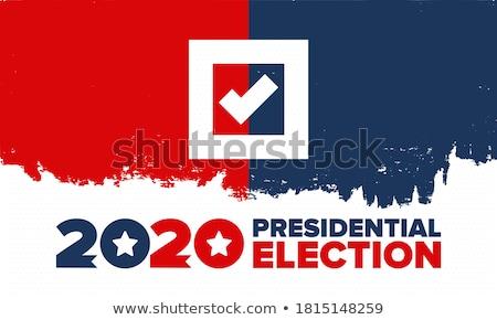 Głosowania podpisania kolory wyblakły szary sklejka Zdjęcia stock © RedDaxLuma