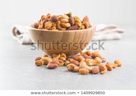 пряный орехи белый продовольствие гайка Сток-фото © FOKA