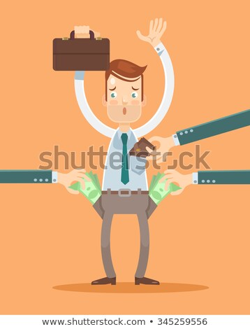 Gangster robbing a businessman Stock photo © Kirill_M