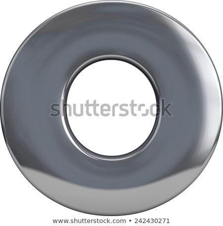 metal rings completely isolated on white Stock photo © pxhidalgo