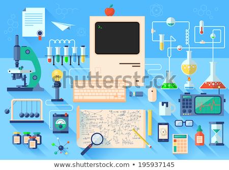 набор · вектора · дизайна · иллюстрация · современных · бизнеса - Сток-фото © brainpencil
