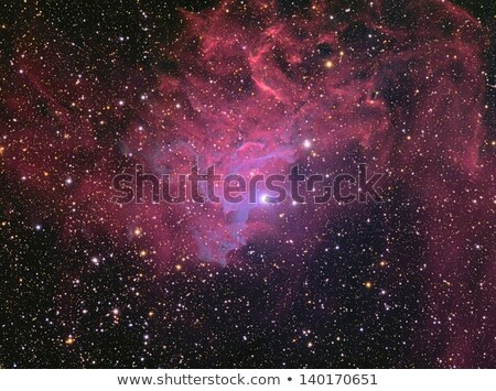 IC405 Flaming star nebula Stock photo © rwittich