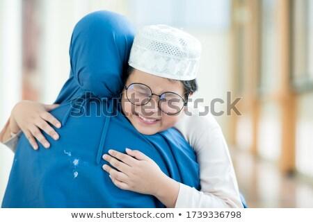 Donne chiamata islam moschea Foto d'archivio © MichalEyal