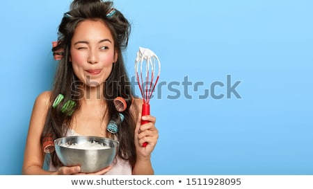 Happy housewife Stock photo © kariiika