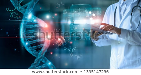 GENETICS Stock photo © chrisdorney